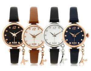 03 Eiffel charm watches (BKL1512L_GAVD403) 블랙마틴 싯봉 여성 가죽 시계
