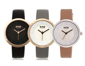 441 Mono bezel watches (BKL1519L_GAVD441) 블랙마틴 싯봉 여성 가죽 시계