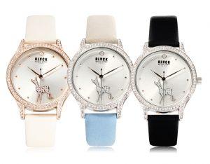 410 Deer women's watches (BKL1521L_GAVD410) 블랙마틴 싯봉 여성 가죽 시계