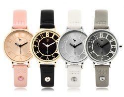 414 Black bold watches (BKL1526L_GAVD414) 블랙마틴 싯봉 여성 가죽 시계