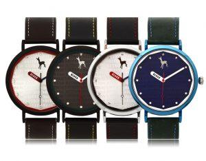 435 Pop case watches(BKL1533M_GAVD435) 블랙마틴싯봉 남녀공용 가죽 시계