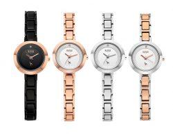 L_Metal mono bezel watches 여성용 (BKM1724L_GAYD107)