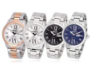 CPM1417 남녀 커플 메탈 시계
