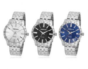 CPM1420 남녀 커플 메탈 시계