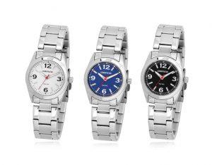 CPM1421 남녀 커플 메탈 시계